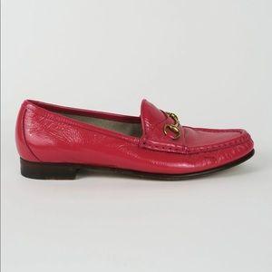 Gucci 1953 Horsebit Accent Loafers sz 38